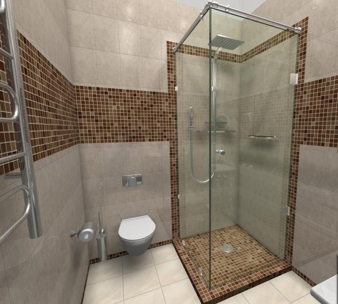 Душевая кабина своими руками в ванной комнате