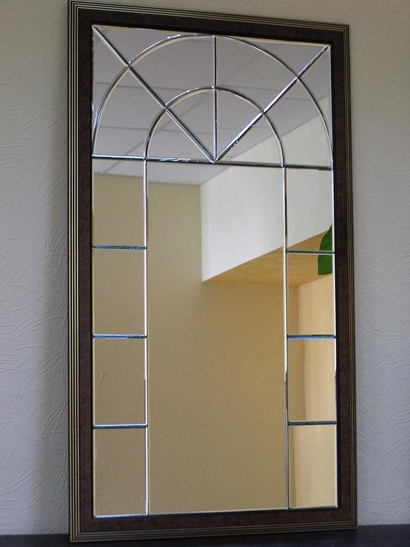 Зеркало с фацетом фото